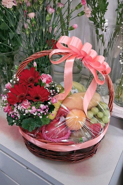 Flower Fruit Basket