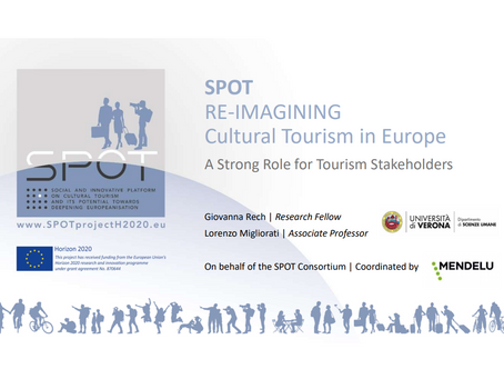 SPOT: A Strong Role for Tourism Stakeholders. Rural Connections Webinar