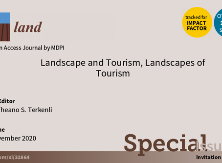 Landscape and Tourism, Landscapes of Tourism - journal Special Issue