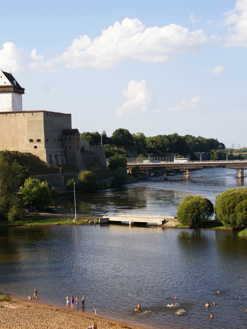 Narva in the summer