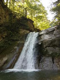 Pruncea Waterfall, Cașoca River, Siriu
