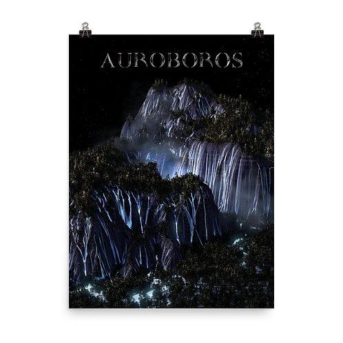 AUROBOROS LANDSCAPE POSTER
