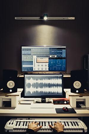 sound engineer, composer working in digi