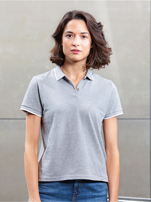 Mantis The Women's Tipped Polo