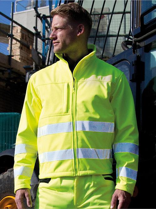 Result Safeguard Hi-vis Tech Soft Shell Jacket