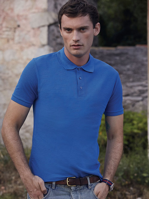 Fruit Of The Loom Men's 65/35 Tailored Fit Polo