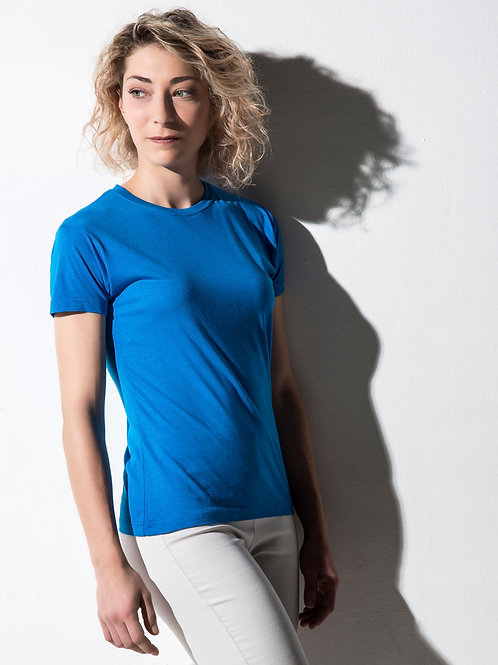 Nakedshirt Women's 'Lily' Viscose-Cotton T-Shirt