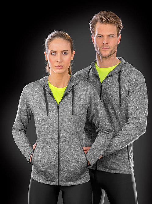 SPIRO FITNESS Men's Hooded Tee-Jacket