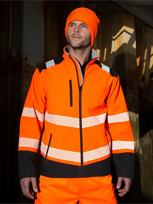 Result Safeguard Printable Ripstop Safety Softshell
