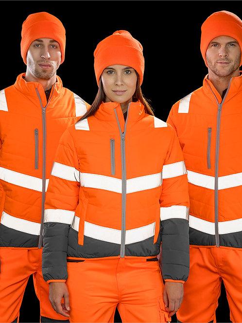 Result Safeguard Women's Soft Padded Safety Jacket