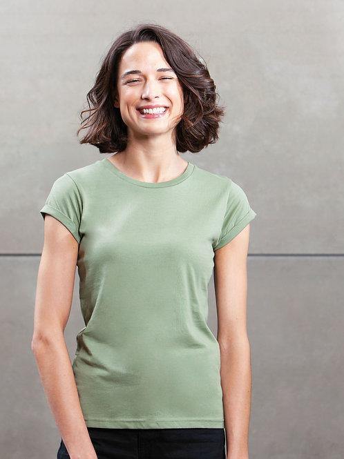 Mantis Women's Roll Sleeve T