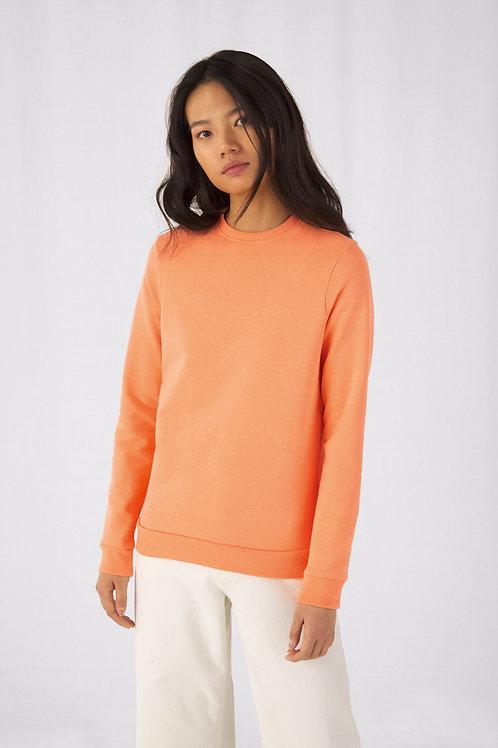 B&C Women's #Set In Sweatshirt