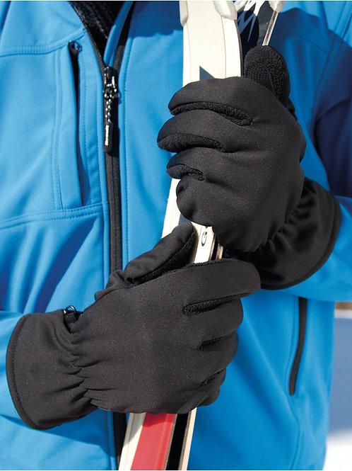 Result Winter Essentials Softshell Thermal Gloves