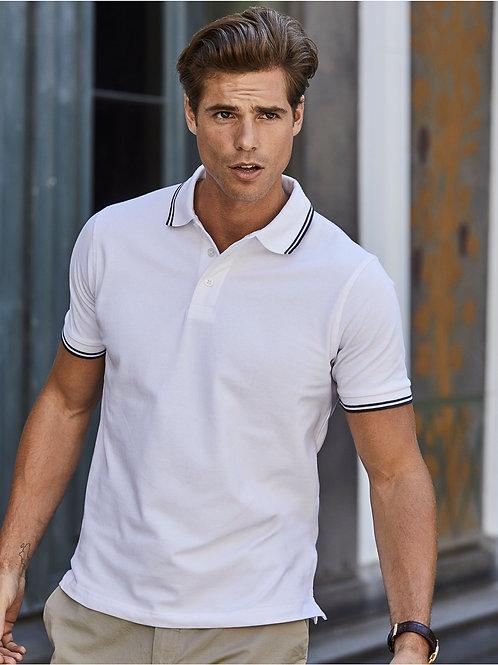 Tee Jays Men's Luxury Stripe Stretch Polo