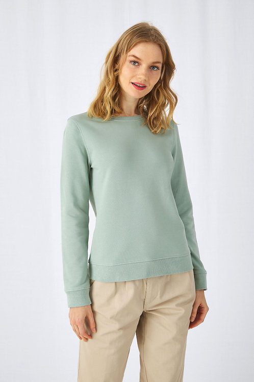 B&C Women's Organic Crew Neck Sweat