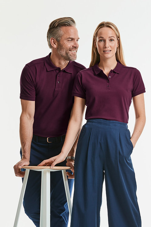 Russell Ladies' Tailored Stretch Polo