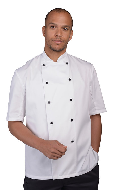 Dennys AFD Removable Stud Chefs Jacket