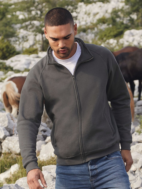 Fruit Of The Loom Men's Classic Sweat Jacket