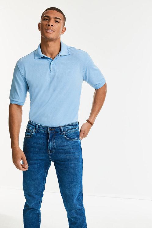 Russell Hardwearing Polycotton Polo Shirt