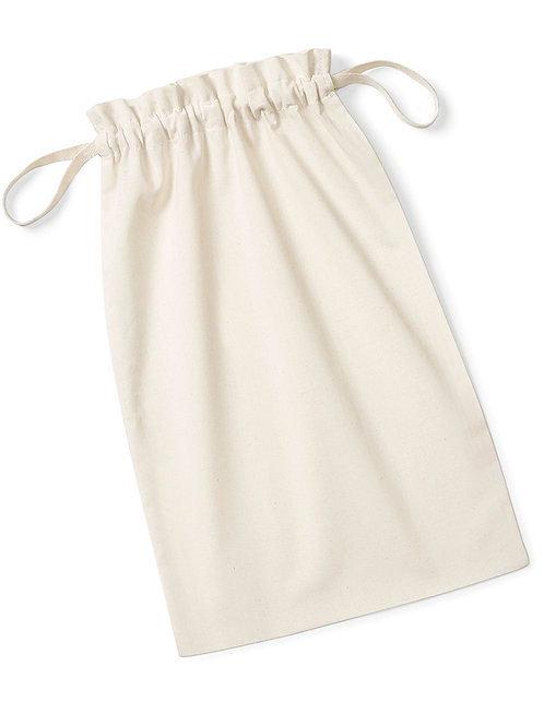 Westford Mill Organic Cotton Draw Cord Bag