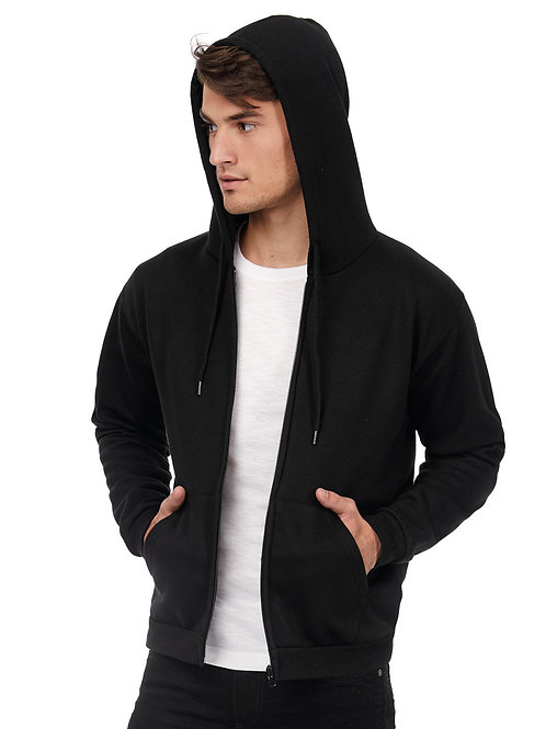 B&C Unisex ID.205 50/50 Hooded Full Zip Sweat