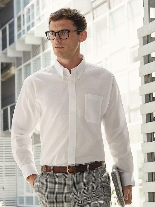 Fruit Of The Loom Men's Long Sleeve Oxford Shirt