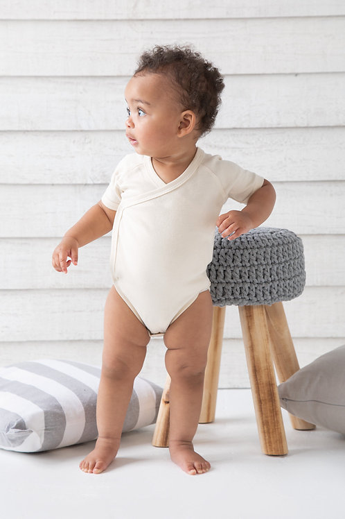 Babybugz Baby Organic Kimono Bodysuit