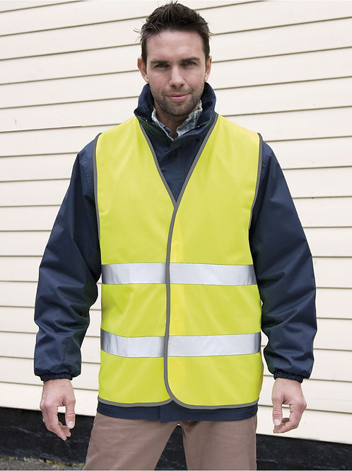 Result Safeguard Hi-Vis Motorist Safety Vest
