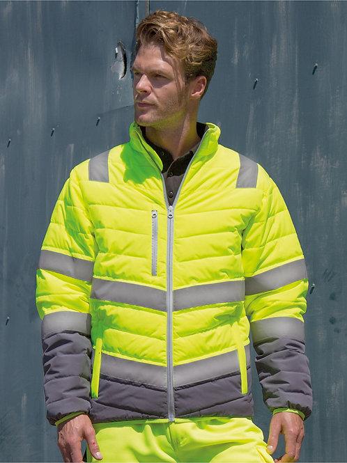 Result Safeguard Men's Soft Padded Safety Jacket