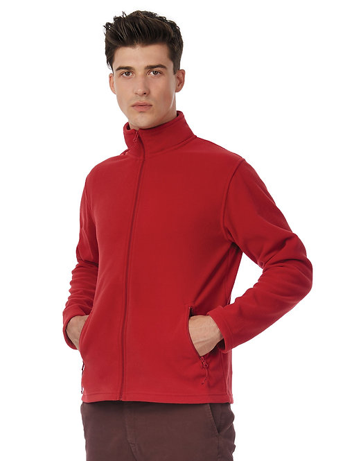 B&C ID.501 Men's Micro Fleece Full Zip