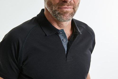 Russell Men's HD Raglan Polo
