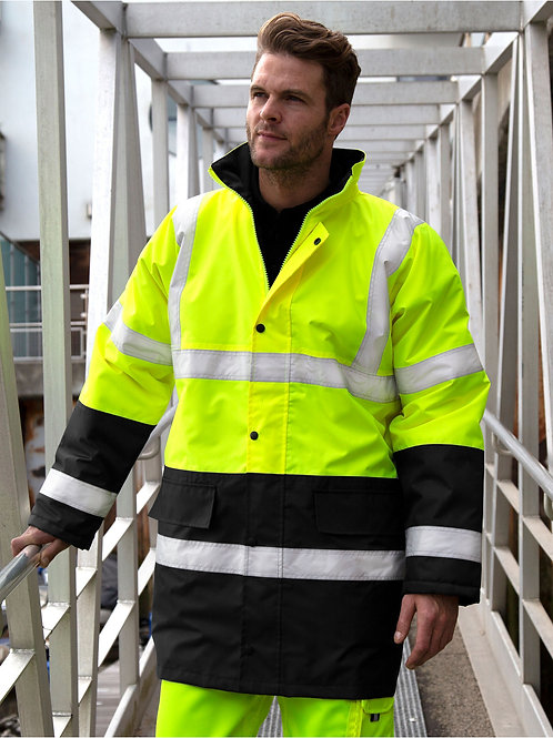Result Safeguard Moterway 2-Tone Safety Coat