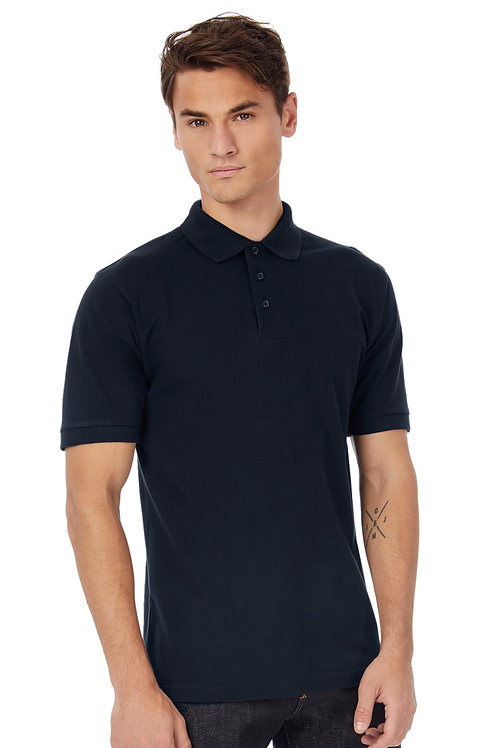 B&C Men's Heavymill Piqu� Polo