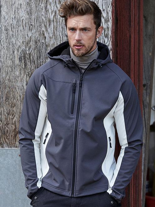 Tee Jays Men's Hooded Lightweight Performance Softshell