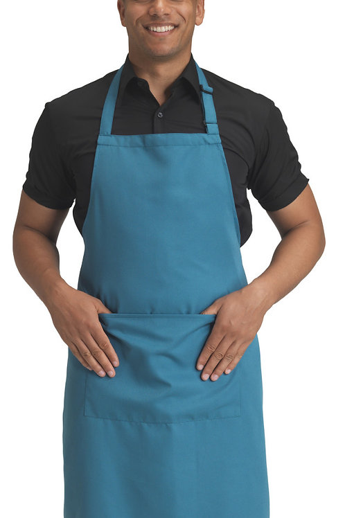 Dennys Recycled Bib Apron With Pocket