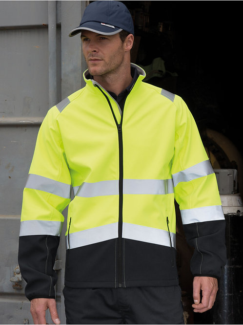 Result Safeguard Printable Safety Softshell