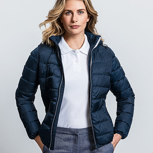 Russell Ladies' Hooded Nano Jacket