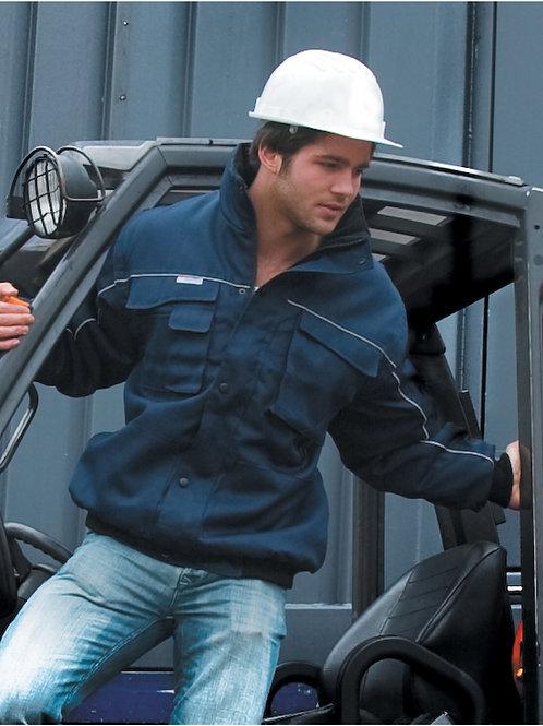 WORK-GUARD by Result Zip Sleeve Heavy Duty Jacket