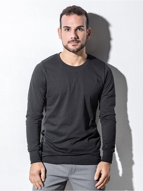 Nakedshirt Men's 'Jim' Organic Long Sleeve T-Shirt