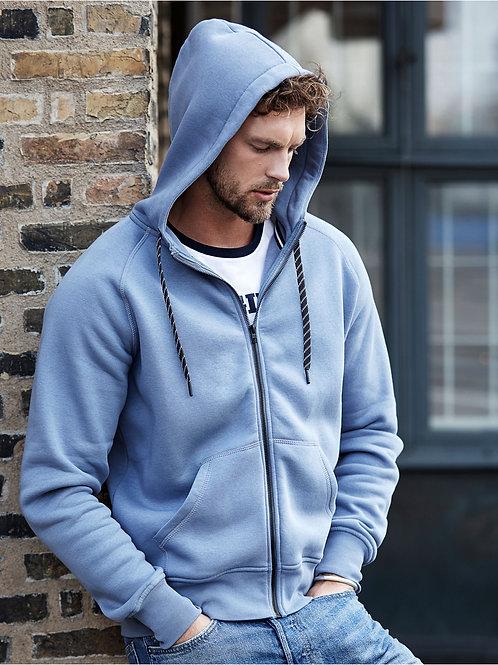 Tee Jays Men's Fashion Full Zip Hood