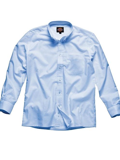 Dickies Men's Oxford Weave Long Sleeve Shirt