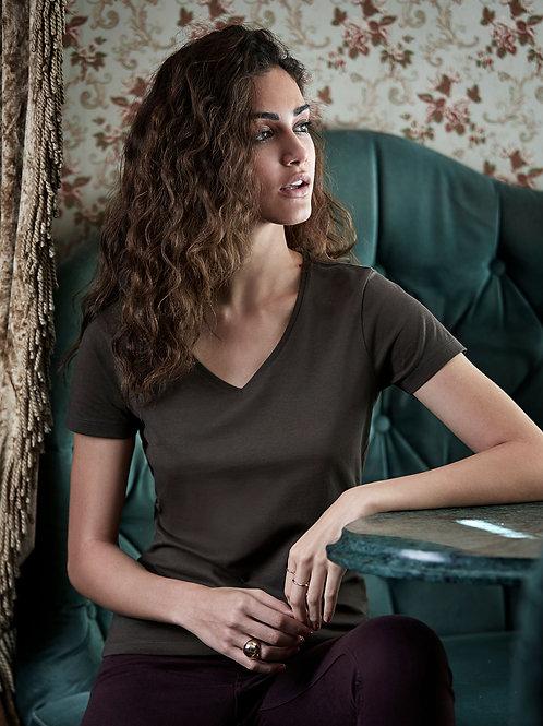 Tee Jays Women's Luxury V-Neck Tee