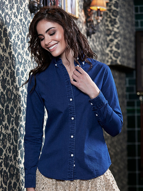 Tee Jays Ladies' Casual Twill Shirt