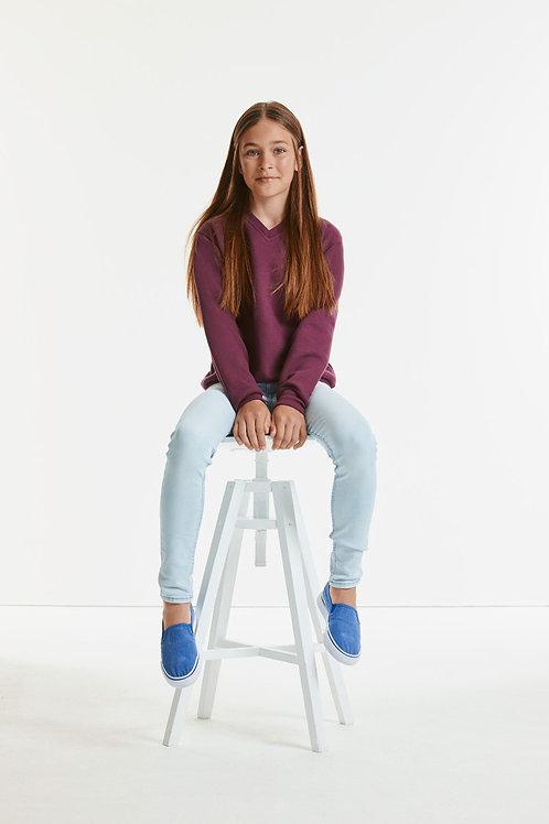 Jerzees Schoolgear Children's V-Neck Sweatshirt