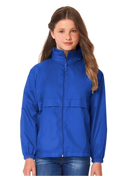 B&C Kid's Sirocco Windcheater Jacket