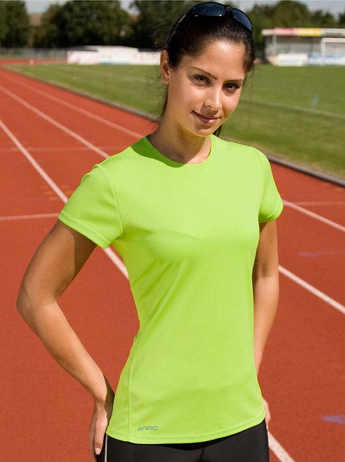 Spiro Ladies' Quick Dry Short Sleeve T-Shirt