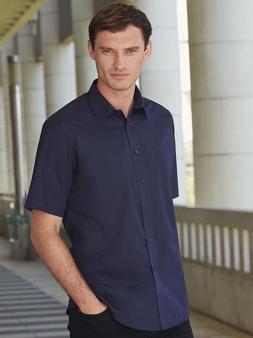 Fruit Of The Loom Men's Short Sleeve Poplin Shirt
