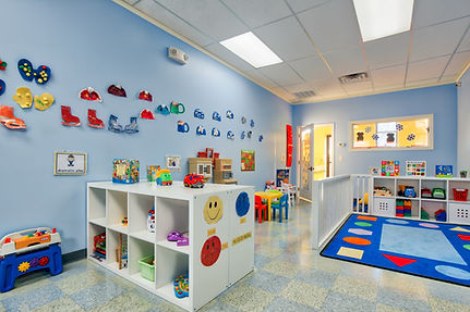 Odyssey Early Learning Academy daycare and preschool toddler classroom, clean bright and inviting space