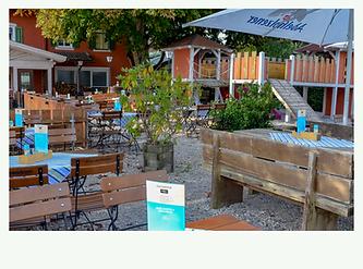 Schöner Biergarten mit Kinderspielplatz Großweil nahe Glentleiten und Walchensee