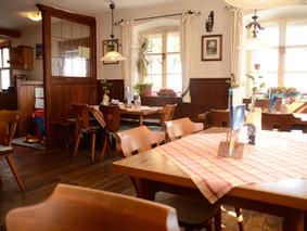 Gaststube in Fröhlichs Wirtshaus